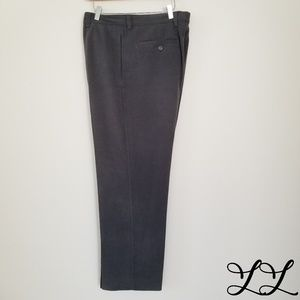 Tommy Bahama Pants Trousers Gray Silk Flat Front
